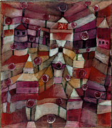 Paul Klee - Rose Garden by Paul Klee