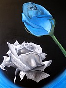 Jorge De Jesus  - Rose naked and blue