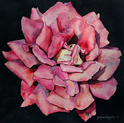 Janet Gupta - Rose Painting