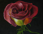 Rose Print by Sherry Robinson