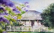 Roseabellas House Bellingen Print by Sandra Phryce-Jones