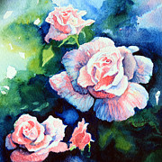 Hanne Lore Koehler Print Paintings - Roses 4 by Hanne Lore Koehler
