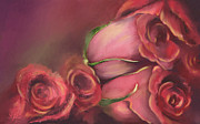 Ornamental Digital Art - Roses 4 You by Sydne Archambault