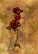 Phil Clark - Roses After Cezanne