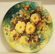 Patricia Rachidi - Roses in yellow