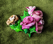Clay Reliefs Originals - Roses by Lena Levin