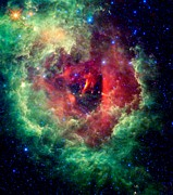 Outer Space Photos - Rosetta Nebula by Benjamin Yeager