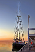 Historic Schooner Photos - Roseway by Joann Vitali