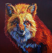 Fox Hunting Prints - Rosie Print by Patricia A Griffin