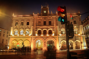 Lisboa Prints - Rossio Train Station Print by Carlos Caetano