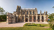 Medieval Temple Photo Prints - Rosslyn Chapel 01 Print by Antony McAulay