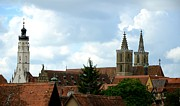 Corinne Rhode - Rothenburg Skyline