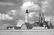 Corinne Rhode - Rothenberg towers in black and white