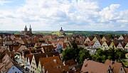 Corinne Rhode - Rothenburg Rooftops