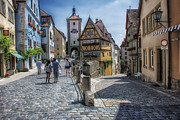 Rothenburg Posters - Rothenburg Poster by Wade Aiken