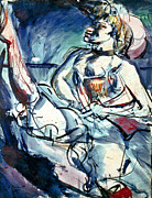 Belle Epoque Photo Prints - Rouault: Tabarin, 1905 Print by Granger