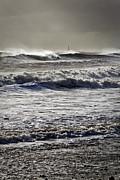 Rough Sea And Stormy Sky Print by Jim Jones