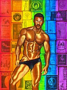 Homoerotic Posters - Rough Trade Poster by Joseph Sonday