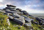 Tor Framed Prints - Roughtor on Bodmin Moor Framed Print by Helen Hotson