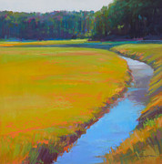 Cape Cod Pastels Originals - Round About by Ed Chesnovitch