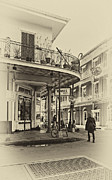 French Quarter Digital Art Posters - Rouses Market sepia Poster by Steve Harrington