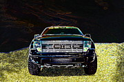 Bad Ass Metal Prints - Roush Raptor Metal Print by Jk Images