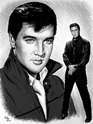 Jailhouse Rock Framed Prints - Roustabout Framed Print by Andrew Read