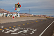 Ghost Signs Prints - Route 66 at Amboy Print by Matthew Bamberg