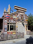 Disneyland Photos - Route 66 - Cars Land - Disneyland - California Adventure by Heidi Smith