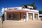 West Fork Photos - Route 66 - DeSotos Salon by Frank Romeo