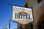 Clark Gable Art - Route 66 - Oatman Hotel by Frank Romeo