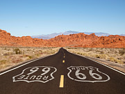 Trekkerimages Photography - Route 66 Pavement Si...