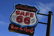 Route66 Prints - Route 66 Williams 3 Print by Christina Czybik