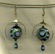 Meditation Jewelry - Roving Eyes by Allie Hafez