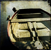 Anticipation Photo Posters - Rowboat Poster by Bernard Jaubert