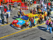 Daytona 500 Photos - Rowdy Kyle Busch by Craig T Burgwardt