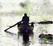 Vincent Dinovici Art - Rowing TNM by Vincent DiNovici