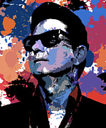 Roy Orbison Framed Prints - Roy Orbison Framed Print by Allen Glass