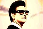 Other Roy Orbison Prints Posters - Roy Orbison Poster by Jerry Gose Jr