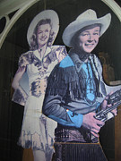 Autry Photos - Roy Rogers and Dale Evans #2 by David Lee Guss