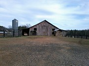 Gerald Griffin Art - Royal Barn Arkansas by Gerald Griffin