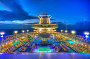 D700 Originals - Royal Carribean Cruise Ship  by Michael Ver Sprill
