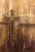 Show Mixed Media - Royal Cross by Cecilia Putter
