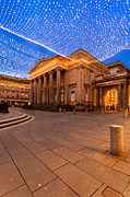 Royal Exchange Square At Borders Print by John Farnan