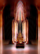 Throne Room Digital Art - Royal latitude by Li   van Saathoff