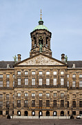 Royal Palace Prints - Royal Palace in Amsterdam Print by Artur Bogacki