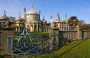 Sussex Framed Prints - Royal Pavilion Brighton Framed Print by Robert Preston