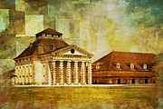 Great Paintings - Royal Saltworks at Arc-et-Senans by Catf