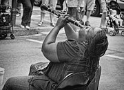 Kathleen K Parker - Royal Street Clarinet Player New Orleans