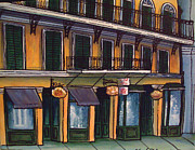 Mardi Gras Paintings - Royal Street Shopping by Charles Harrison